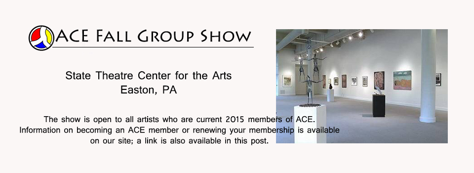 ACE Members Show at State Theatre Gallery
